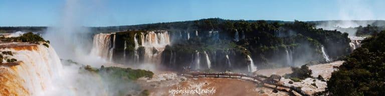 Panorama Iguazu Wasserfaelle Highlights