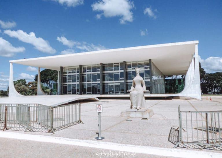 Praco do tres Poderes Brasilia Sehenswuerdigkeiten