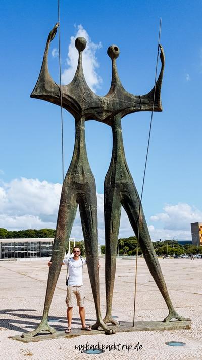 Praco do tres Poderes Brasilia Sehenswuerdigkeiten Rundreise