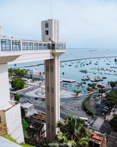 Der Elevador Lacerda in Salvador da Bahia