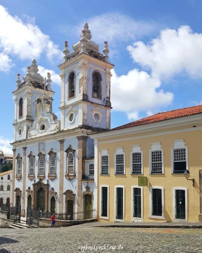Salvador Altstadt Sehenswuerdigkeiten Reisetipps