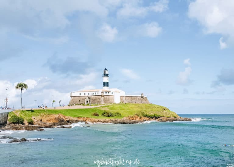 Salvador Barra Leuchtturm Sehenswertes