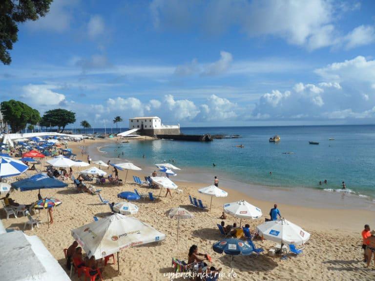 Salvador da Bahia Sehenswuerdigkeiten Reisetipps