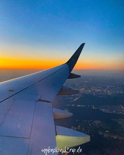 Botswana Anreise Flugzeug