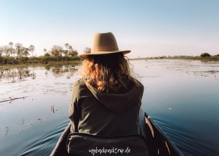 Botswana Okavago Delta Mokoro