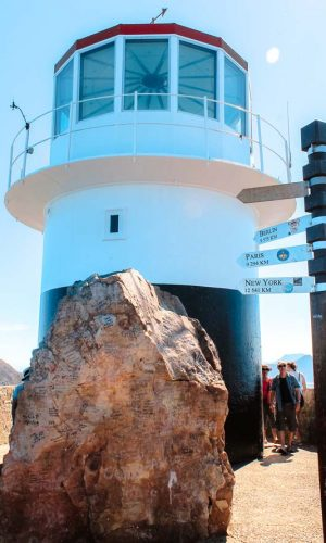 Cape Point auf der Kaphalbinsel Südafrikas