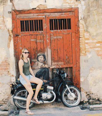 Street Art George Town Penang | Malaysia Rundreise: Reisebericht, Reisetipps, Routen, Highlights, Reiseblog