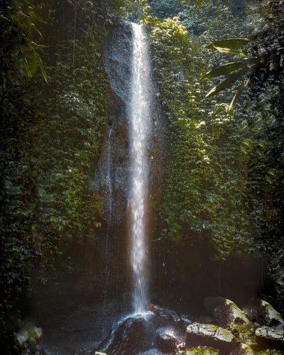 Der Tibumana Wasserfall in der Nähe von Ubud