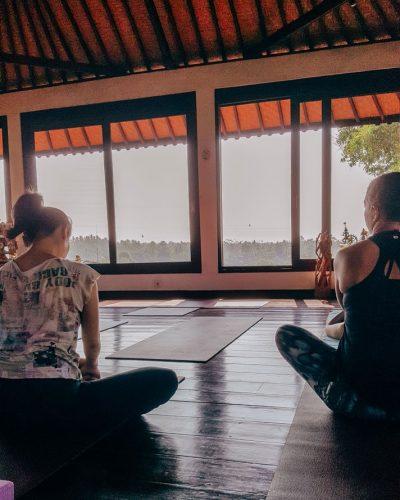 Yogasession in Ubud